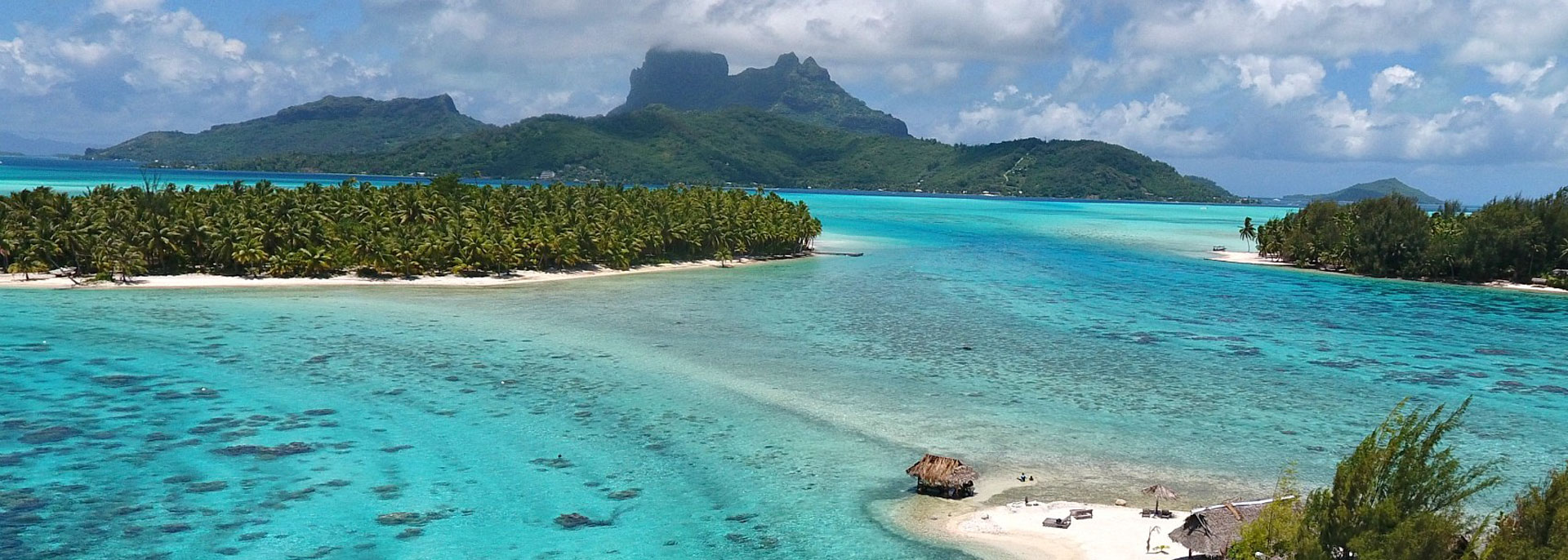 Ilôt privé de Bora Bora