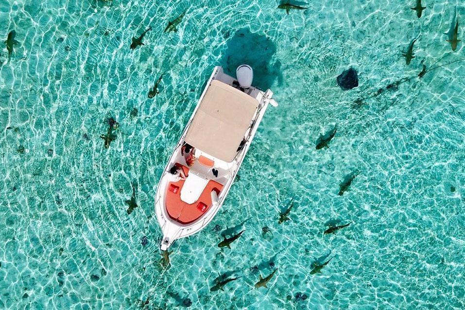 Découverte du lagon de Bora